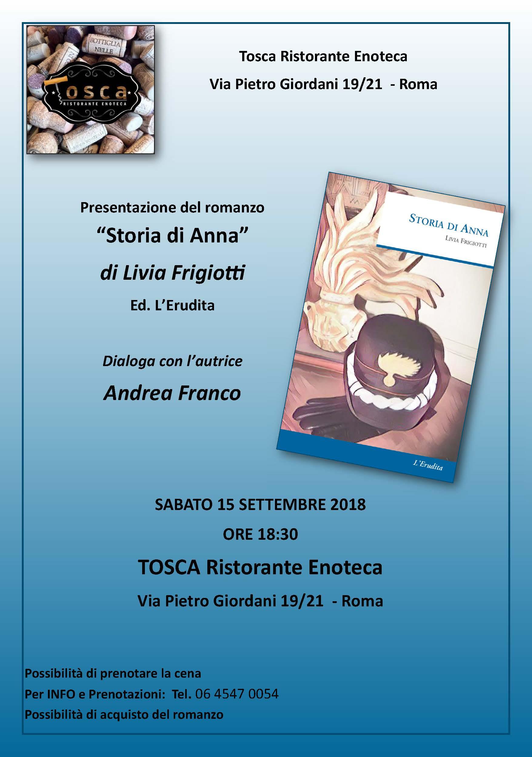 "Presentazione ""Storia di Anna"" 1"