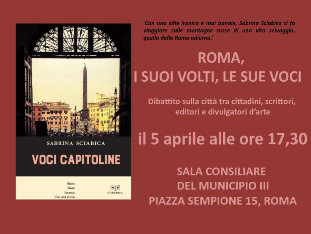 """Presentazione """" Voci Capitoline"""""""