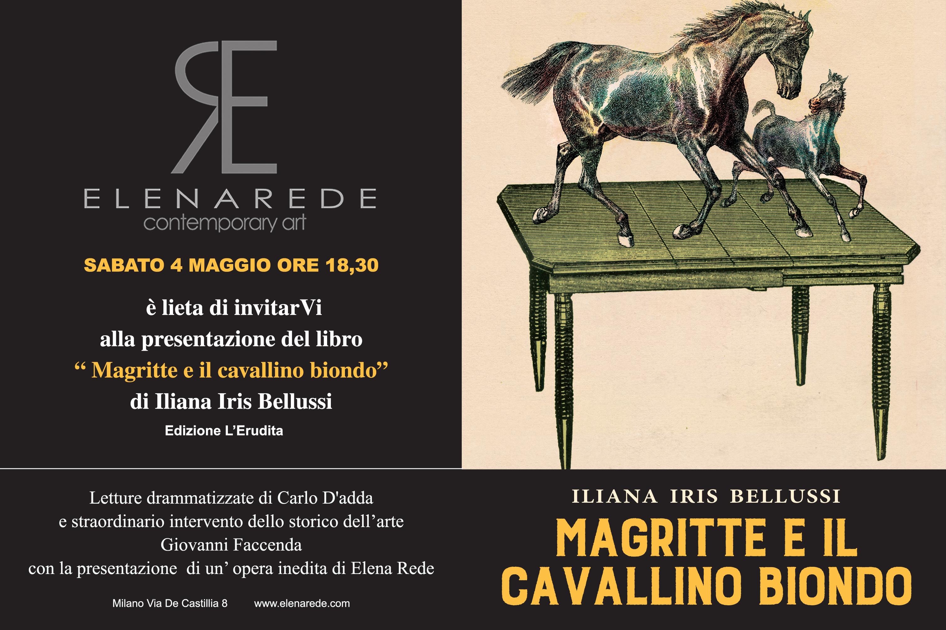 """Presentazione """"Magritte e il cavallino biondo"""""""