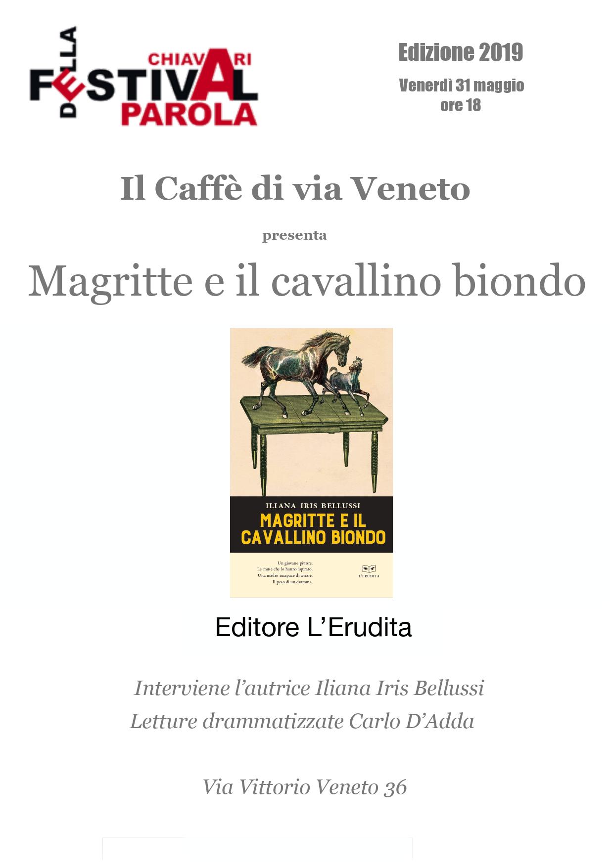 """Presentazione """"Magritte e il cavallino biondo"""" 1"""