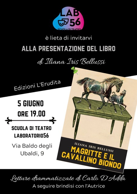 """Presentazione """"Magritte e il cavallino biondo"""" 2"""